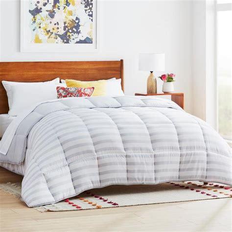 Cal King Alternative Comforter by Linenspa Charcoal Alternative Microfiber