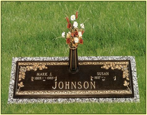 granite grave markers granite  home design ideas