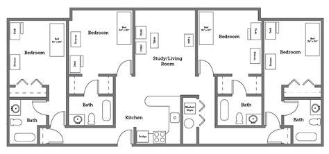 cnu village  room layout