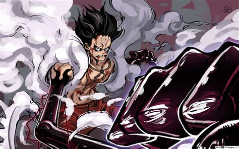 The first part seems kinda logic, but the second part is a little bit far from one piece reality i think^^. Luffy Gear 4 Wallpapers ·① WallpaperTag
