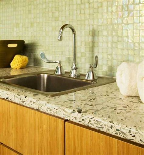 great ideas   modern kitchen countertop material