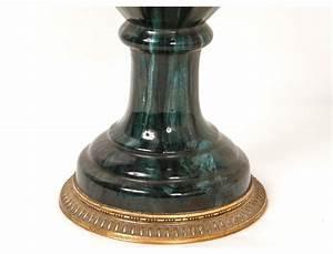 Pot A Couvert : grand vase pot couvert potiche porcelaine bronze dor balustre napiii xix ~ Teatrodelosmanantiales.com Idées de Décoration
