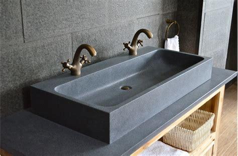 evier cuisine leroy merlin looan grande vasque en granit véritable taillée