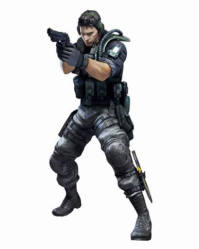 Chris Redfield Resident Evil Revelations Characters Games