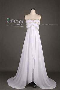 Sweet 16 white sweetheart beading lace flowy long by for White flowy wedding dress