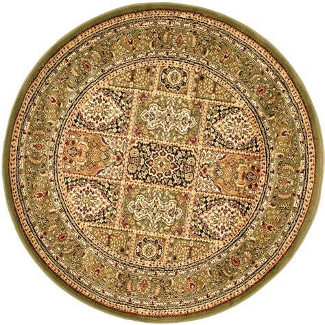 8 foot area rugs safavieh lyndhurst multi green 8 ft x 8 ft area