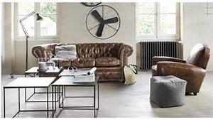 les 84 meilleures images du tableau deco industrielle sur With meuble cuisine maison du monde 9 salon en cuir maisons du monde photo 315 exemple de