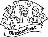 Oktoberfest Colouring Ausmalbilder Coloring Oktober Fest Characters Fictional Visit Picolour sketch template