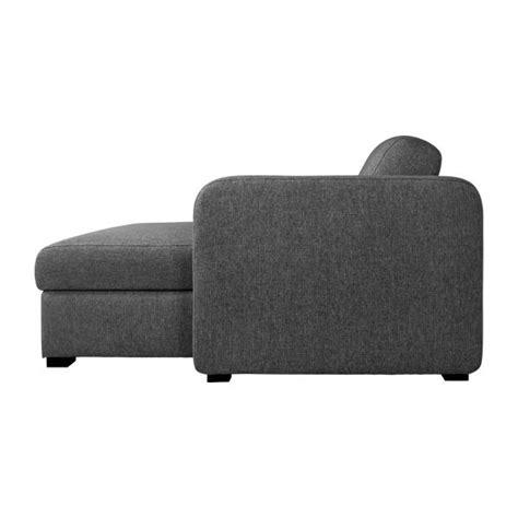 canapé lit avec rangement porto 3 canapé lit 3 places en tissu avec angle