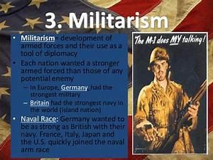 Militarism Examples