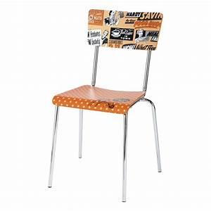 Chaise Vintage Maison Du Monde : chaise vintage orange r clam 39 maisons du monde ~ Melissatoandfro.com Idées de Décoration