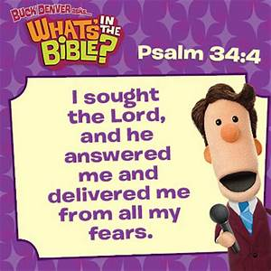Psalm 34:4 - Verse of the Day 1/24/14 - Whats in the Bible