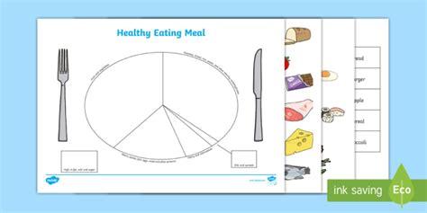 balanced meal plate template idealvistalistco