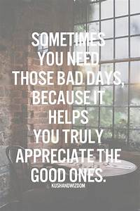 Top 30 Positive... Good Bad Day Quotes