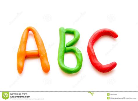 la p 226 te 224 modeler marque avec des lettres abc photo stock image 54618389