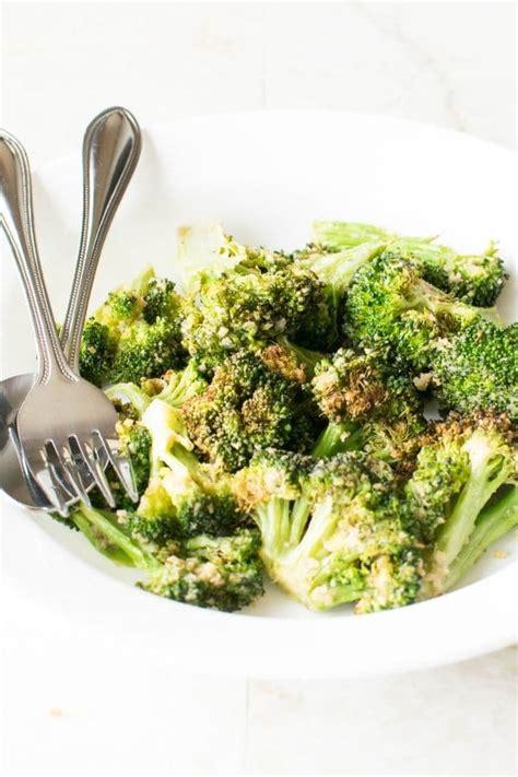 air fryer broccoli crispy vegan kiipfit recipes flipboard mix