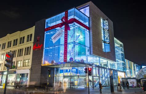 glasgow shopping centre st enoch christmas shopping