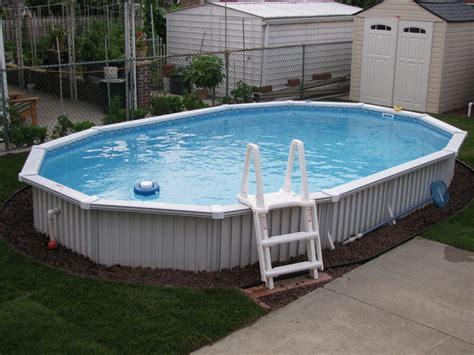 semi inground oasis pools studio design gallery