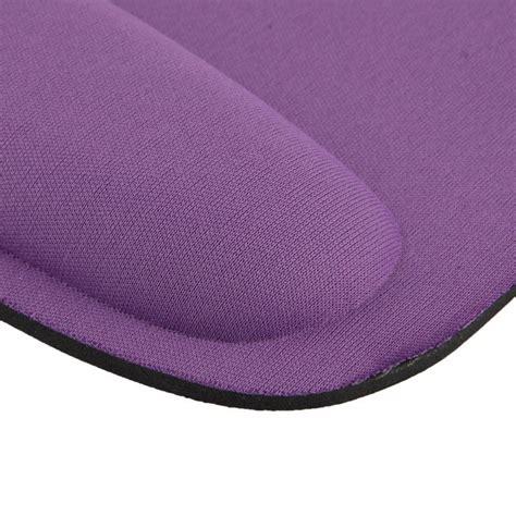 tapis de souris ergonomique repose poignet ultra fin violet