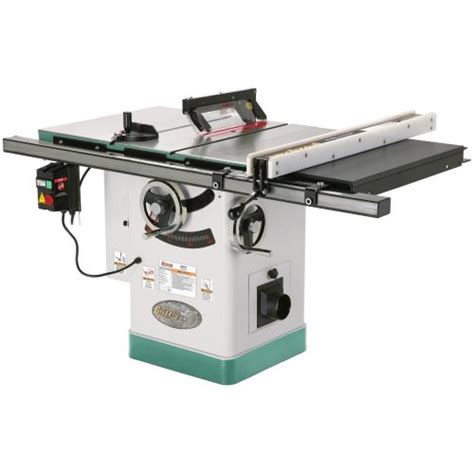 grizzly cabinet saw canada grizzly g0690 10 3hp 220v cabinet table saw with riving