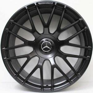 Mercedes s class oem wheels rear 19 machined rims 85118. 19 INCH GENUINE MERCEDES BENZ AMG C63 FORGED ALLOY WHEELS IN CUSTOM BLACK | eBay