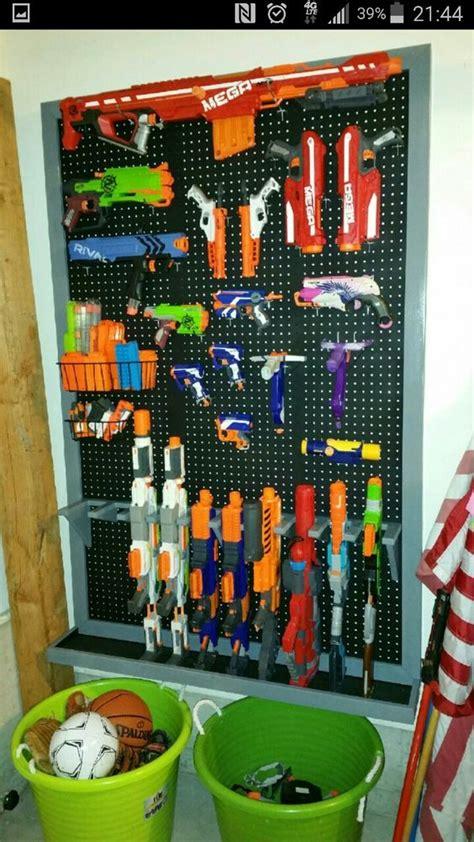 nerf gun rack the world s catalog of ideas