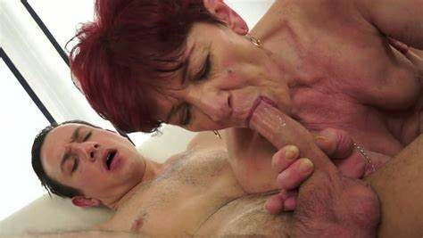 Grey Haired Ginger Student Taking By Oldman