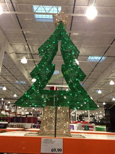 led twinkling christmas tree costcochaser
