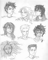 Olympus Heroes Fan Wolf Teen Coloring Percy Jackson Drawings Sketch Drawing Drew Credit Larger Couple Pretty sketch template