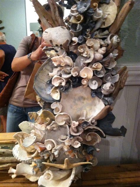 finally  cool shell mirror art seashell crafts