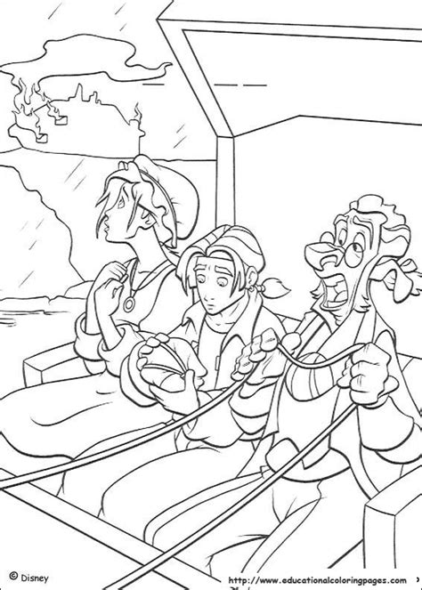 treasure planet coloring pages educational fun kids coloring pages  preschool skills worksheets