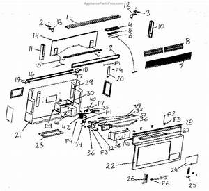 dacor 82633 key printed circuit board appliancepartsproscom With on parts attachments and accessories for printed circuit board
