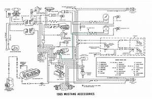65 Mustang Wiring Diagram Key