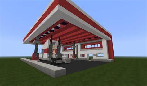 minecraft truck stop modern toxico truck stop w i p