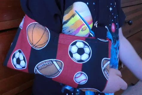 How To Make An Arm Sling For A Toddler Or Preschooler