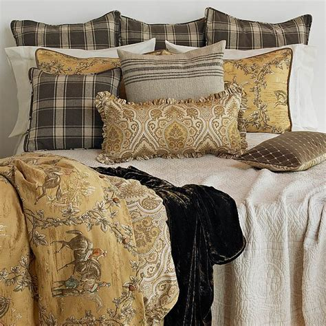 toile bedding discontinued traditions linens hayden toile bed ensemble