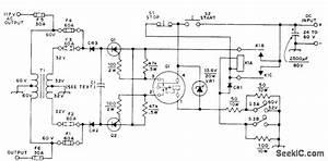 117 Vac From 24 60 Vdc - Basic Circuit