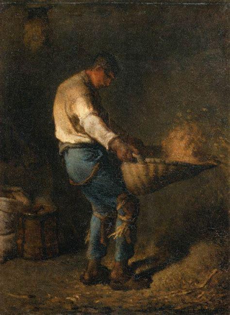 le de wood peinture file jean fran 231 ois millet ii the winnower wga15688 jpg wikimedia commons