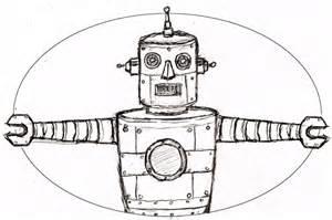 Cool Robot Drawings Pencil