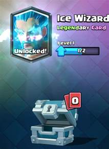 Card Clash Royale Legendary Chest