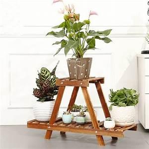 Etagere De Jardin Pour Plantes : acheter salon rack usine stand en bois ~ Teatrodelosmanantiales.com Idées de Décoration