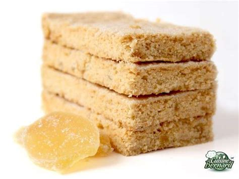 gingembre cuisine recettes de shortbreads au gingembre