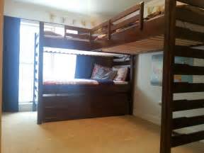 pottery barn bunk beds craigslist with large well made