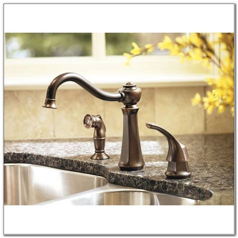 Vestige Kitchen Faucet by Moen Vestige Kitchen Faucet Rubbed Bronze Dandk