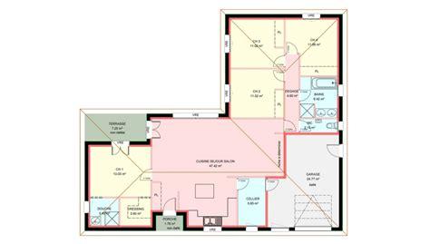 modele maison plain pied 4 chambres maison plain pied 4 chambres nouveaux modèles de maison
