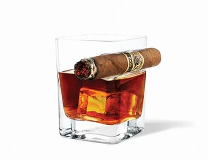 Cigar Whiskey Glass Smoke Drink Corkcicle Maxim