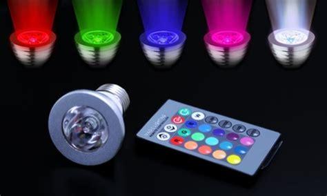light bulbs that change color color changing led light bulbs groupon goods