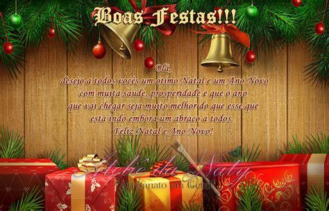 cartao de natal  ano novo atelie da naty elo