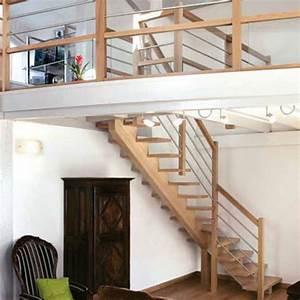 Escalier Bois Quart Tournant : escalier en bois quart tournant sans contremarche quart ~ Farleysfitness.com Idées de Décoration