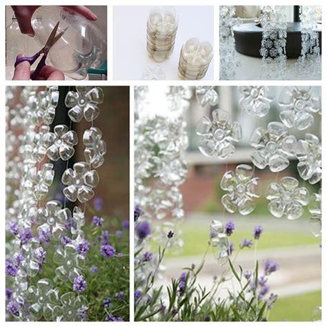 perfect diy beautiful plastic bottle curtain diy crafts recycle plastic bottles diy